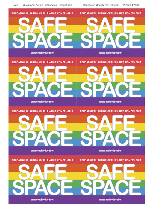 Buy Safe Space Stickers here